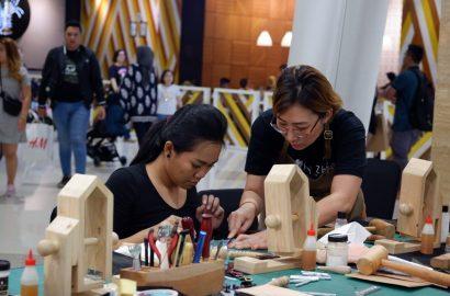 Workshop Love Leather Bersama Punky Zhou di Hartono Mall Yogyakarta